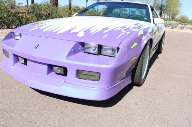 1988 Chevrolet Camaro Lt5 Gm Heritage Car Zr1 Motor 25th
