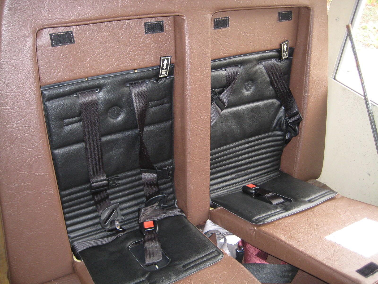 1988 Chevy Van 30 mini school bus car seats built in 15 ...