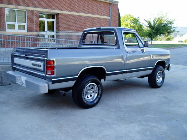 1988 dodge power ram 150 4x4 56k actual miles the best you will find. Black Bedroom Furniture Sets. Home Design Ideas