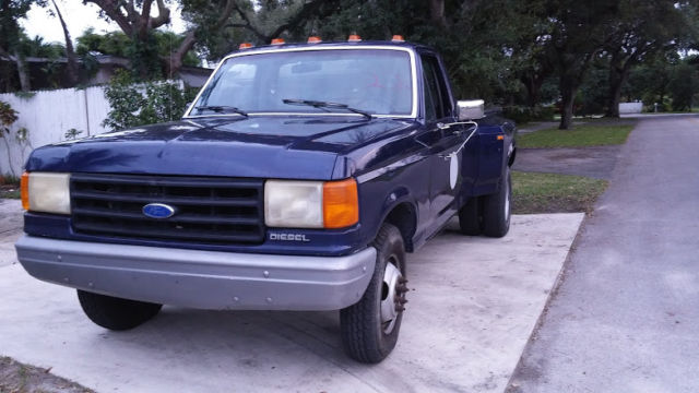 1988 Ford F350 Dually Single Cab Only 76k Miles Low Reserve 7 3