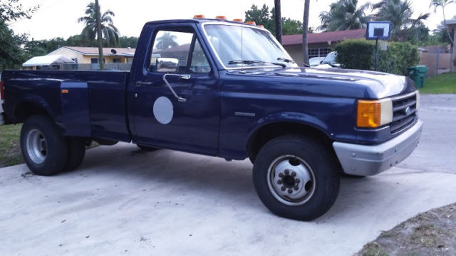 Retired Police Cars For Sale >> 1988 Ford f350 Dually Single Cab -ONLY 76K MILES - LOW ...