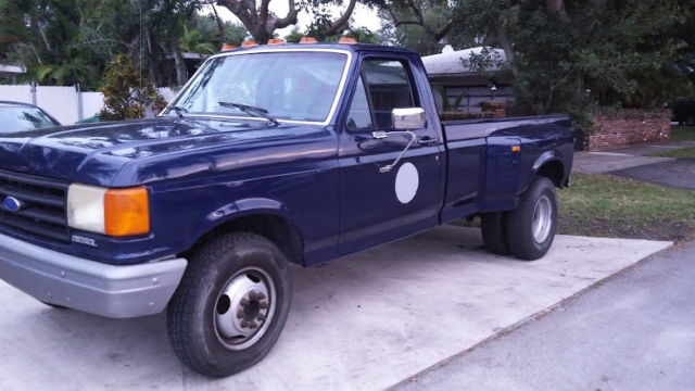 ford  dually single cab   miles  reserve  diesel