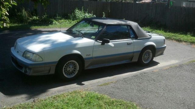 1988 ford mustang gt 5 0 convertible 58 000 miles. Black Bedroom Furniture Sets. Home Design Ideas