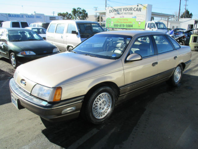 1988 Ford Taurus Lx Sedan 4 Door 3 8l No Reserve For Sale