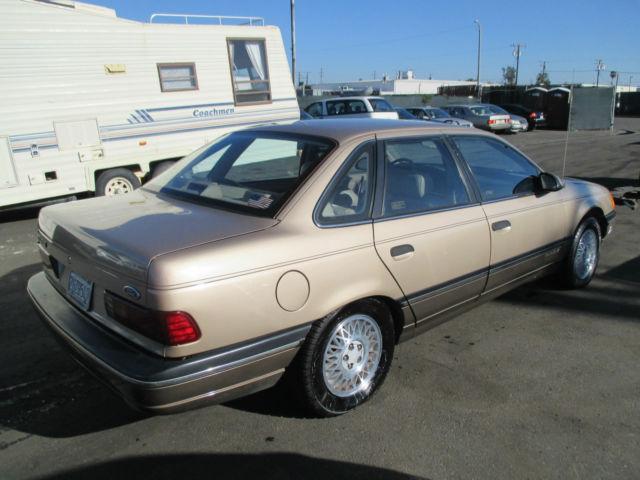 1988 Ford Taurus Lx Sedan 4 Door 3 8l No Reserve For Sale