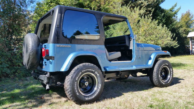 1988 jeep wrangler 4cyl 5spd 3 body lift hard top w full doors new paint. Black Bedroom Furniture Sets. Home Design Ideas