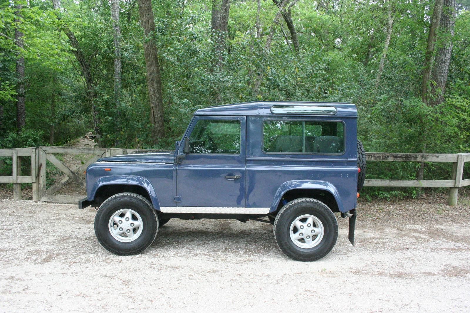 Rebuilt Land Rover Defender