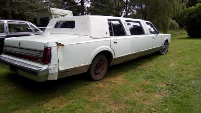 1988 Lincoln Town Car Limousine Limo Original