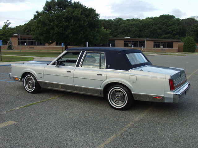 1988 Lincoln Town Car Signature Series 80 000 Original Miles