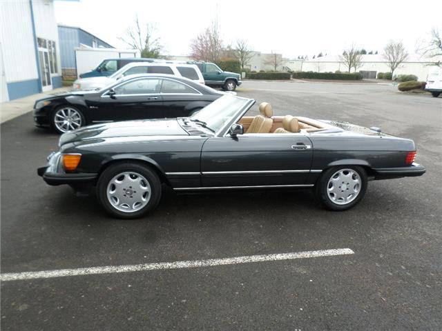 1988 mercedes benz 560 series 560sl 152 000 miles dark for Mercedes benz eugene oregon