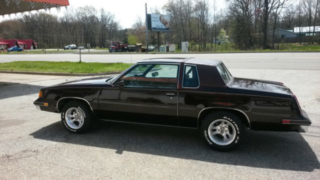 1988 Olds Cutlass Supreme G Body Clean Car