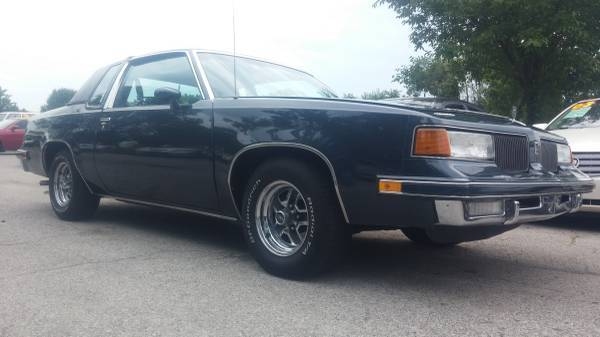 1988 OLDSMOBILE CUTLASS SUPREME BLUE COUPEEXTREMELY LOW MILES V8 307 88