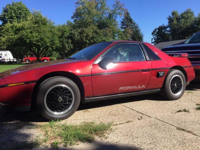1988 Pontiac Fiero Formula For Sale 1988 Pontiac Fiero