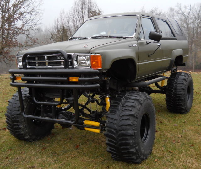 1988 toyota 4runner 4x4 chevy 350 motor 350 auto trans 3 4 ton axles. Black Bedroom Furniture Sets. Home Design Ideas