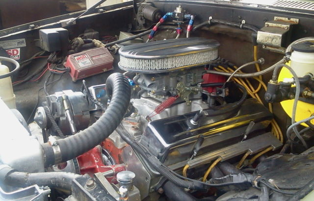 1988 toyota 4runner 4x4 chevy 350 motor 350 auto trans