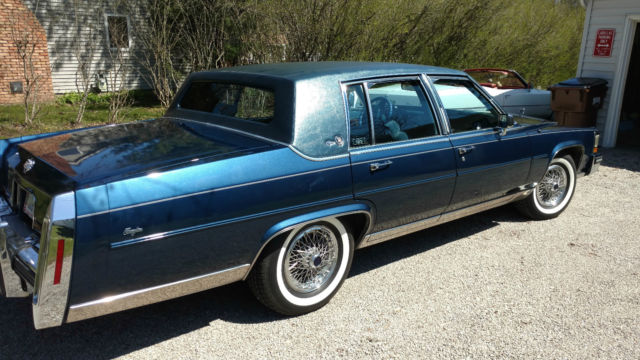Cadillac Fleetwood For Sale >> 1989 Cadillac Brougham d'Elegance Sedan 4-Door 5.0L ...