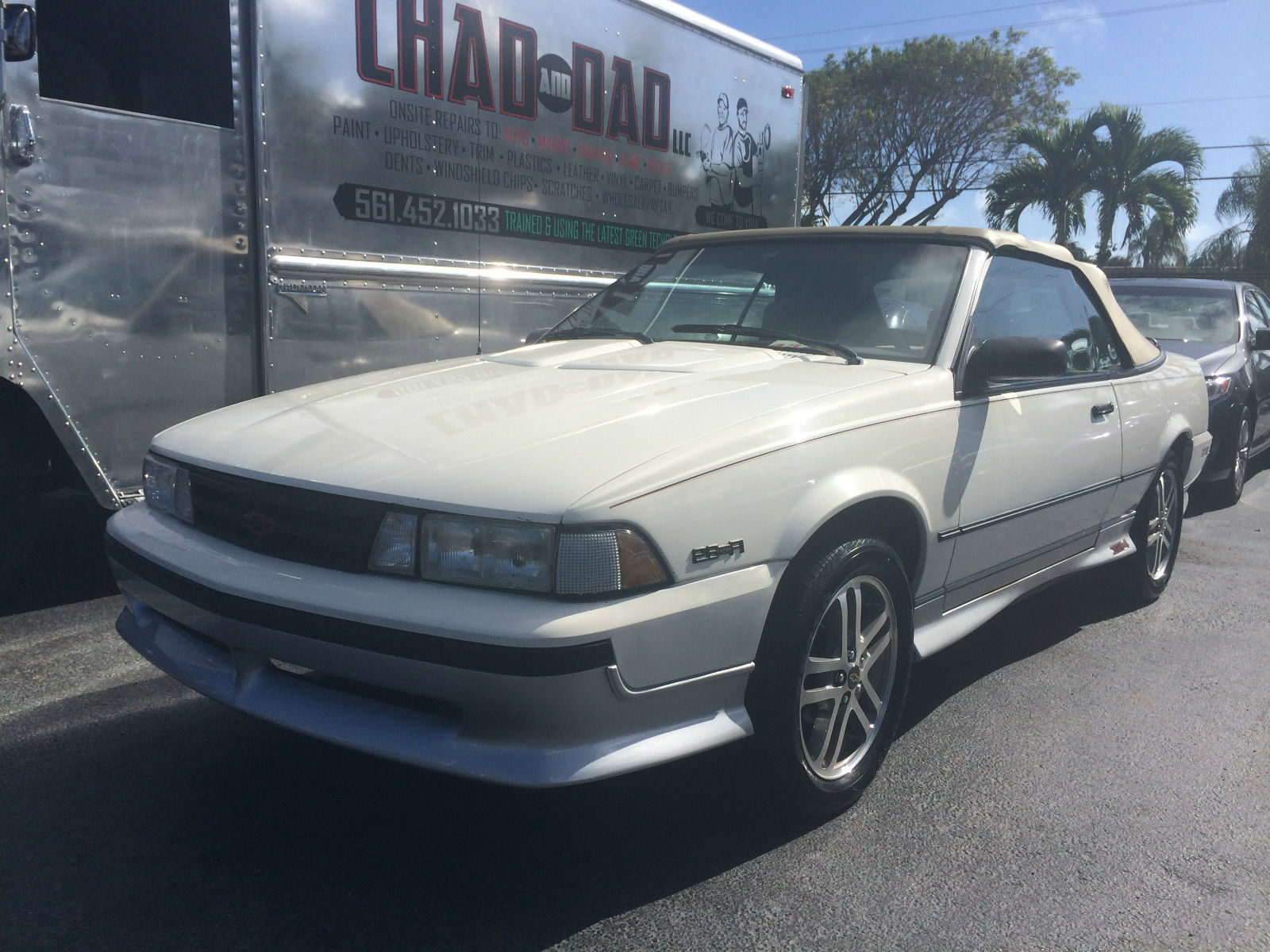 1989 cavalier z24 convertible chevy convertible classic for West palm beach motor vehicle registration