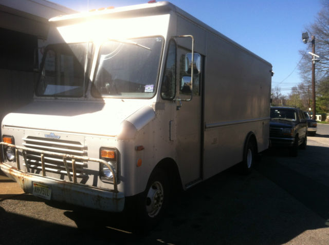 Used Food Truck For Sale >> 1989 chevrolet grumman aluminum step van bread van truck rare