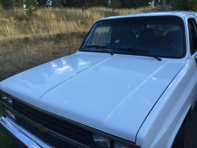 1989 Chevy K5 Blazer Silverado Rust Free Survivor With
