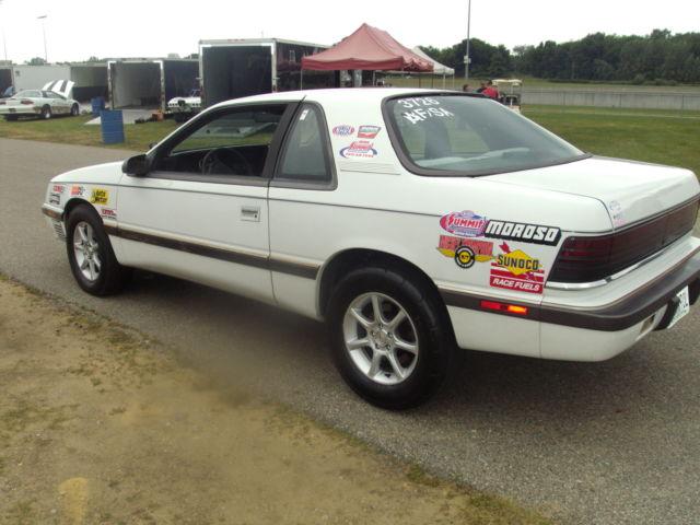 1989 Chrysler Lebaron 2 5 Turbo Automatic Class Legal Drag Race Car