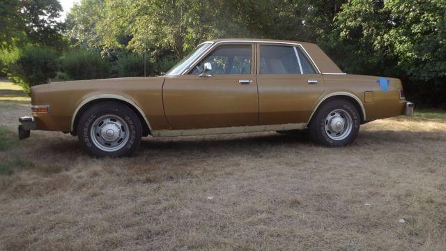 Por15 Where To Buy >> 1989 Dodge Diplomat Mopar Police AHB Cop Car Tennessee ...
