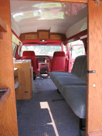 1989 Ford E350 Super Club Wagon Xlt Amazing Van