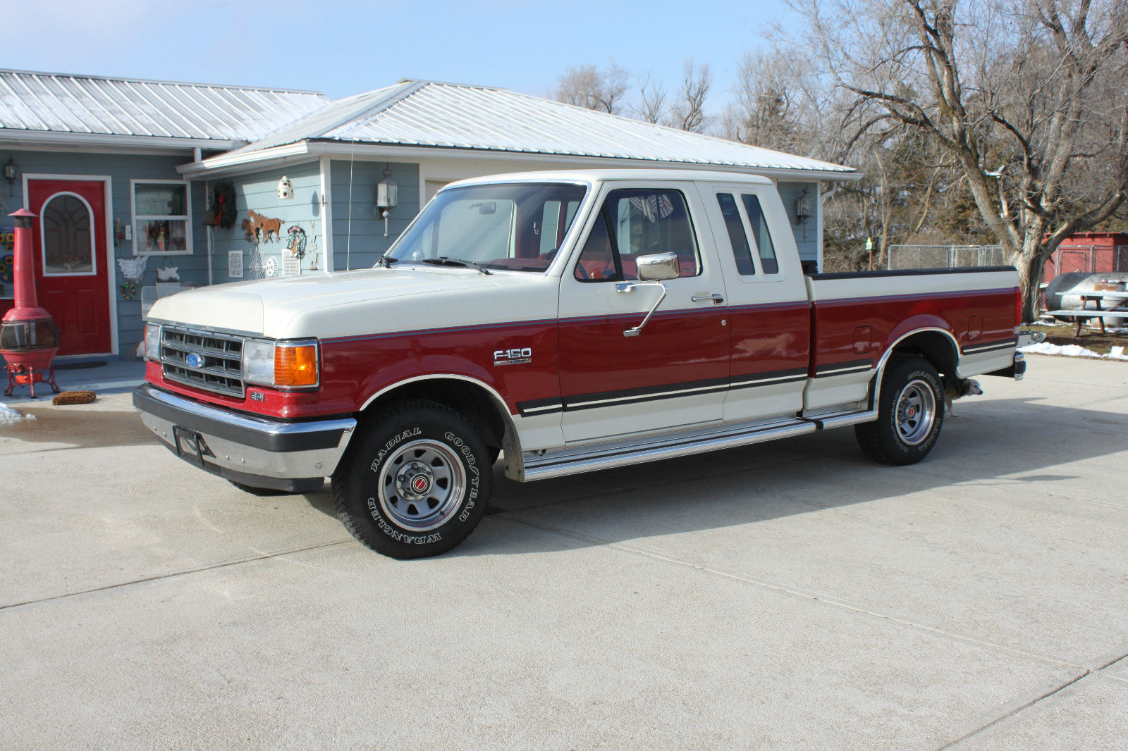 1989 ford f 150 xlt lariat extended cab pickup 2 door 5 0l. Black Bedroom Furniture Sets. Home Design Ideas