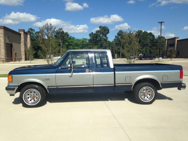 1989 Ford F-150 XLT Lariat Extended Cab Pickup 2-Door 5.0L C-10