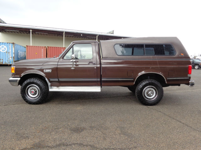 1989 Ford F250 4x4 Long bed low miles! XLT 1988 1987 1990 ...