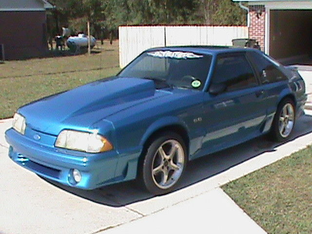 Mustang 1989 Blue