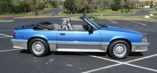 Rich Ford Albuquerque Nm >> 1989 Ford Mustang GT Convertible - 7,406 Miles - Collector Owned - None Better