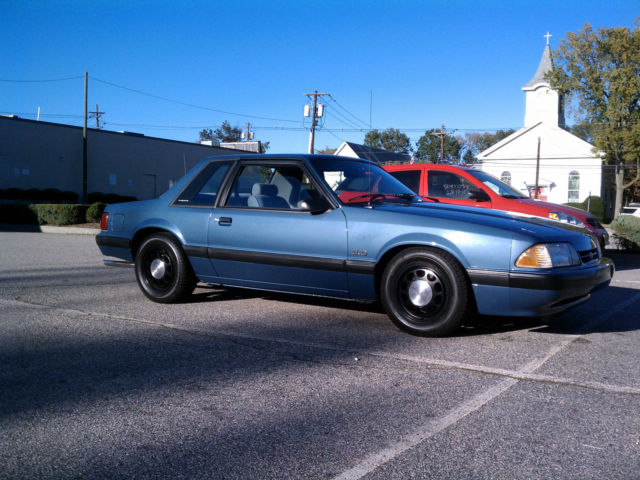 Mahwah Ford Service >> 1989 Ford Mustang LX 5.0 SSP Notchback