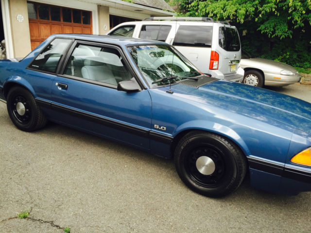 1989 Ford Mustang Lx 5 0 Ssp Notchback
