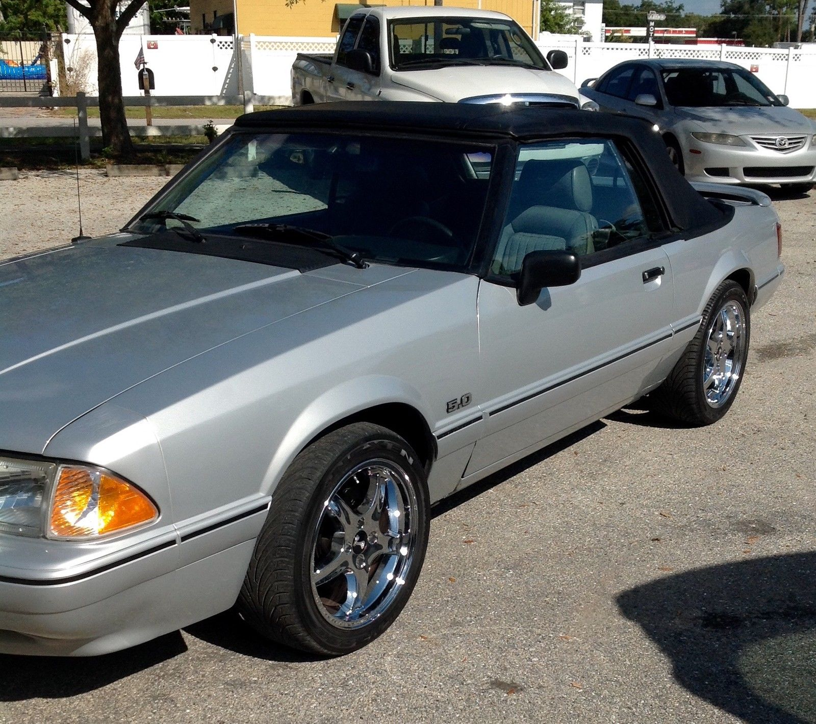 1989 Ford Mustang Lx Convertible 2 Door 5 0l V8 25th