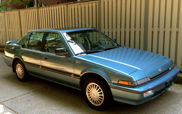 """1989 Honda Accord LXi Sedan """"One Owner"""" Only81K Auto ..."""