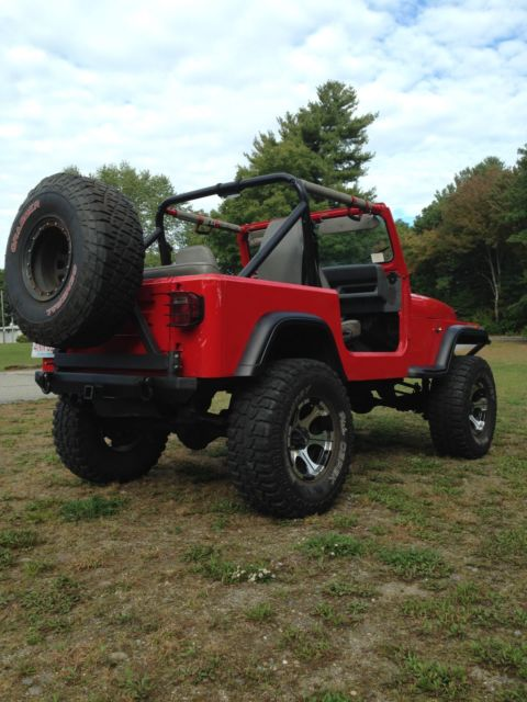1989 jeep wrangler 4x4 lifted with 35 39 tires. Black Bedroom Furniture Sets. Home Design Ideas