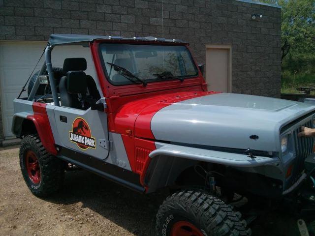 1989 jeep wrangler jurassic park edition rock crawler yj. Black Bedroom Furniture Sets. Home Design Ideas