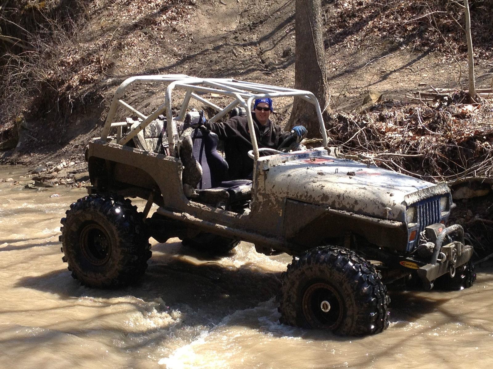 Jeep Rock Crawler 1989 Jeep Wrangler Rock Crawler Mud Truck Classic Jeep Wrangler