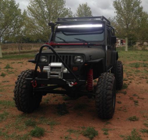 1989 jeep wrangler yj 4x4 2 door 4 0l rock crawler no reserve. Black Bedroom Furniture Sets. Home Design Ideas