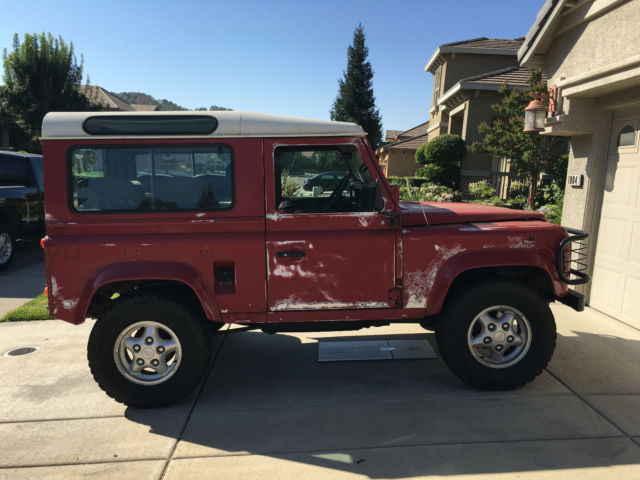 1989 Land Rover 90 Defender County Station Wagon 4x4 D90