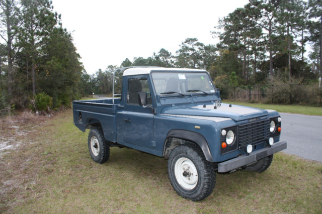 1989 land rover defender 110 pickup lhd 2 5 turbo diesel. Black Bedroom Furniture Sets. Home Design Ideas