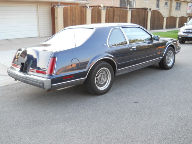 1989 Lincoln Mark Vii Lsc Sedan 2 Door 5 0l Little Old