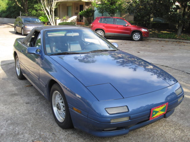 1989 Mazda Rx7 Convertible New Paint Amp Seats