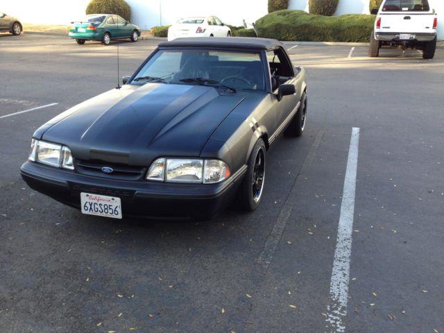 1989 mustang 5 0 fox body convertible for sale in rancho cordova california united states. Black Bedroom Furniture Sets. Home Design Ideas
