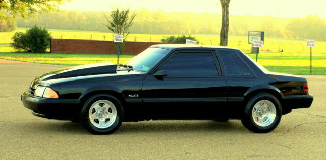 1989 mustang notchback 5 0 lx fox body 347 stroker show quality fresh build w w. Black Bedroom Furniture Sets. Home Design Ideas