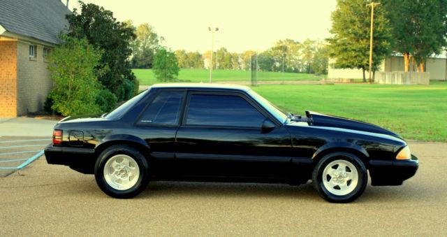 1989 Mustang Notchback 5 0 Lx Fox Body 347 Stroker Show