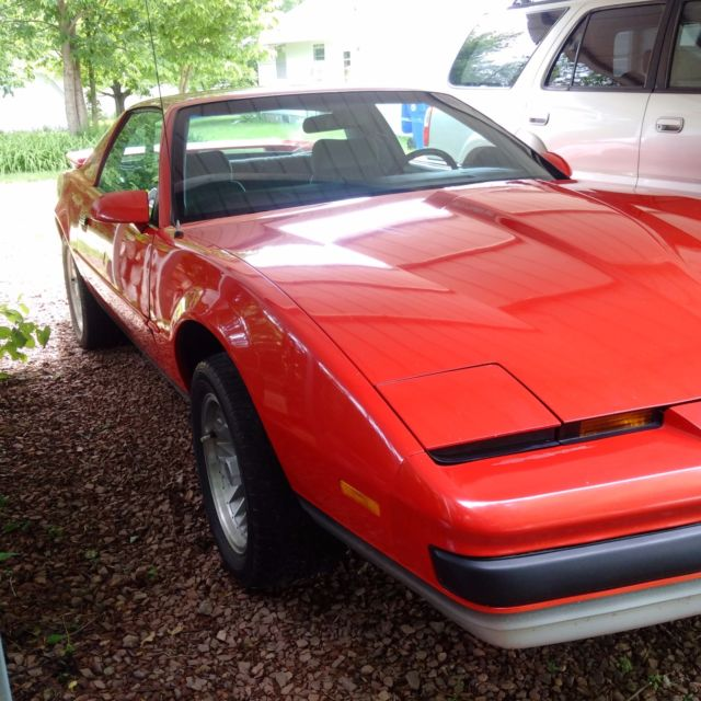 1989 Pontiac Formula Red Collector Car Original Owner Well ...