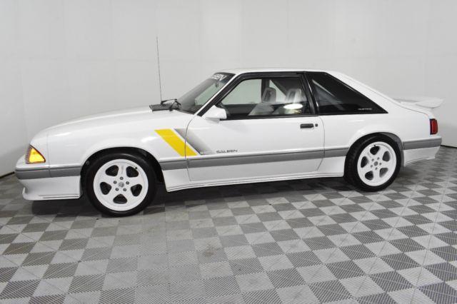 1989 Mustang Saleen Floor Mats