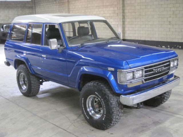 1989 Toyota LandCruiser HJ61 4.0L 12H T TURBO DIESEL Automatic 24MPG 4WD  JDM RHD