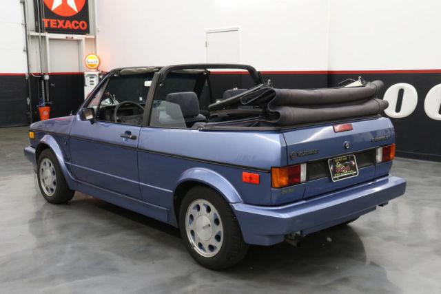 1989 Volkswagen Cabriolet 2dr Convertible 5 Spd 70074